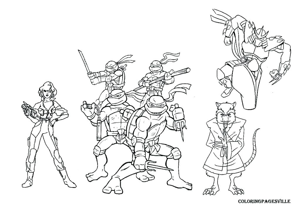 1024x724 Tmnt Coloring Pages And Fascinating Color Pages Crayola Photo Ge