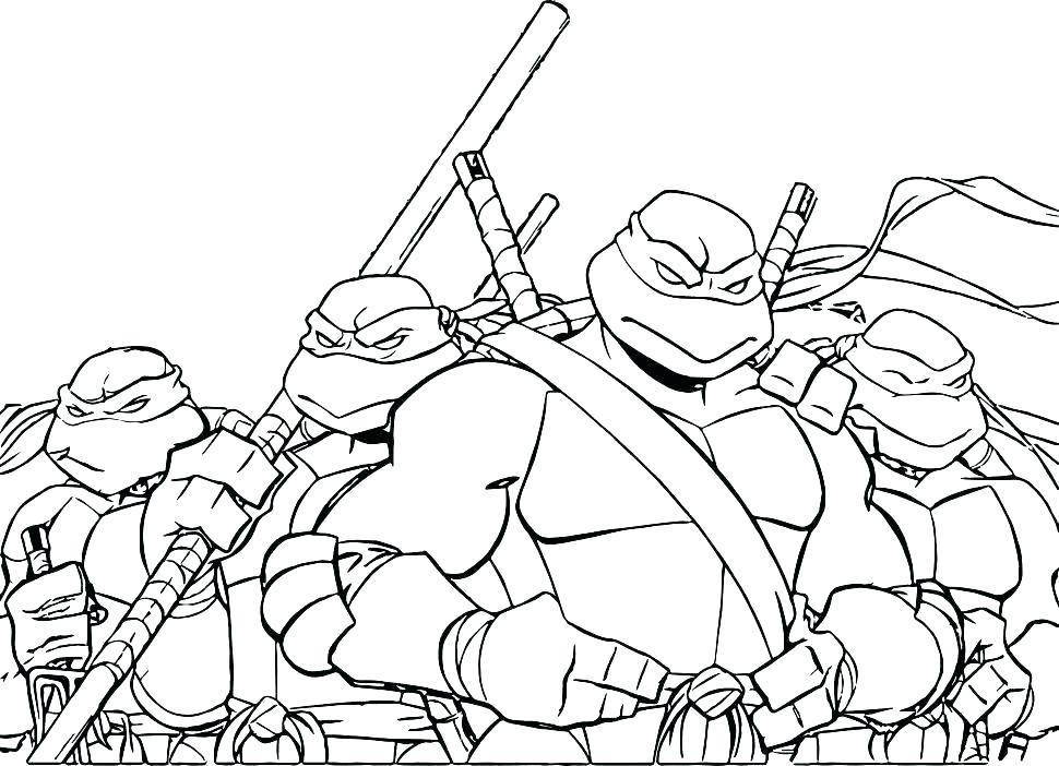 970x702 Teenage Mutant Ninja Turtles Coloring Games S Teenage Mutant Ninja