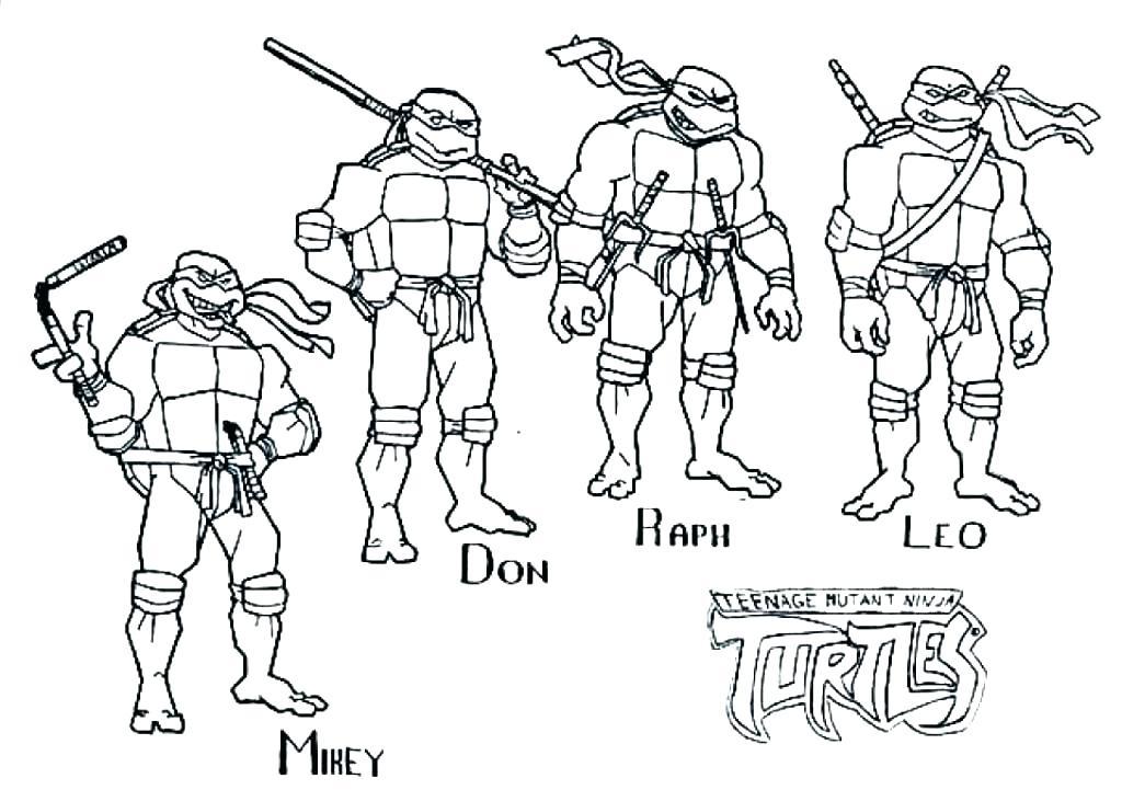 1024x721 Teenage Mutant Ninja Turtles Coloring Pages Teenage Mutant Ninja
