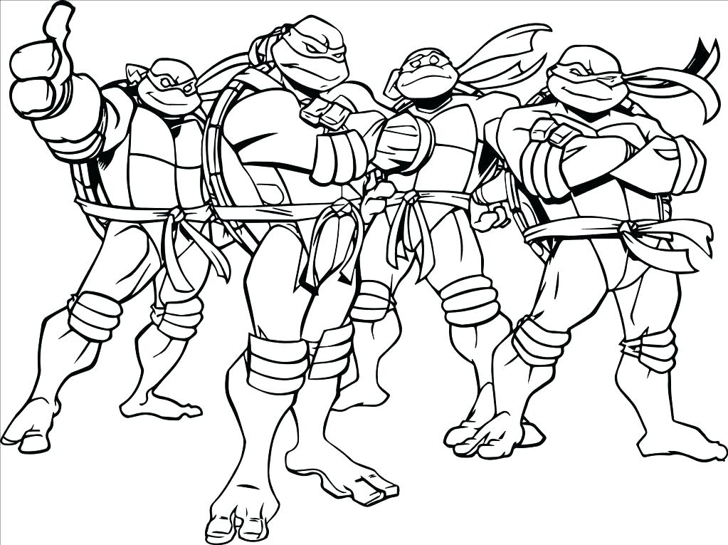 1023x765 Ninja Turtle Coloring Picture Ninja Turtle Coloring Pages Ninja