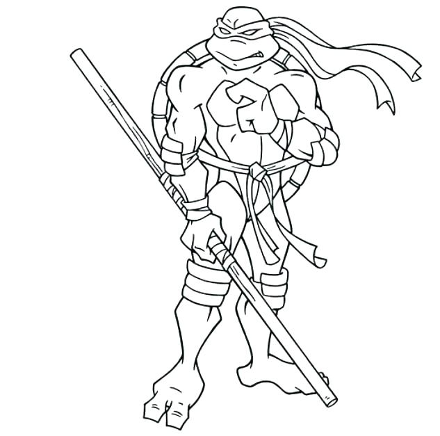 633x627 Michelangelo Coloring Pages