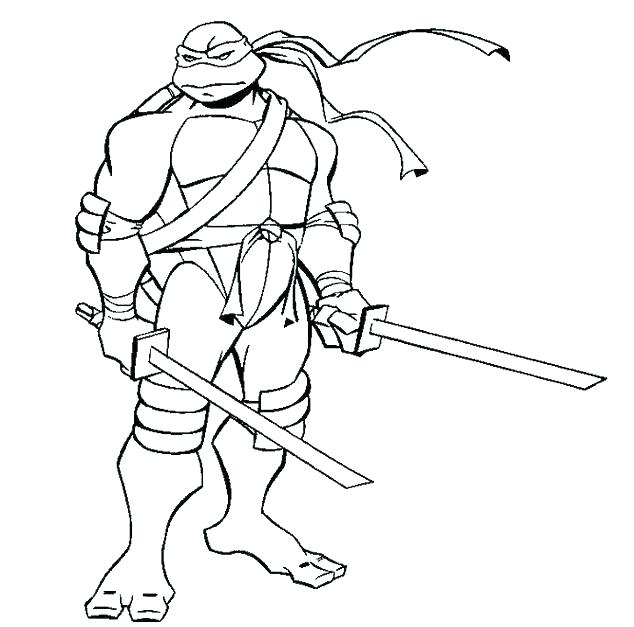 634x627 Ninja Turtles Free Printable Coloring Pages Ninja Turtle Color