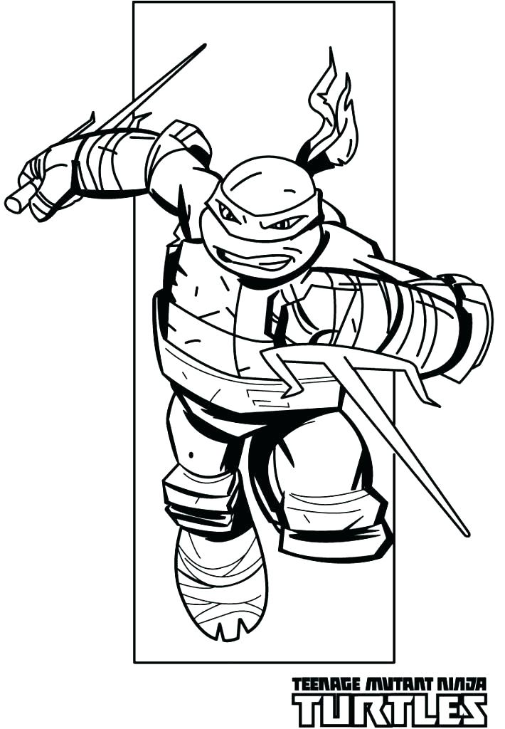 710x1024 Teenage Mutant Ninja Turtles Printable Coloring Pages