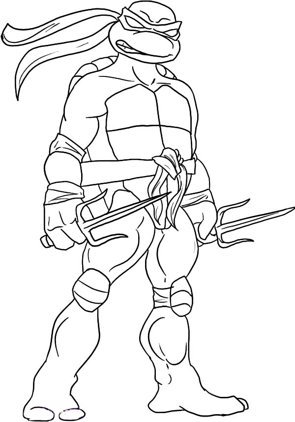 600x856 Teenage Mutant Ninja Turtles Coloring Pages