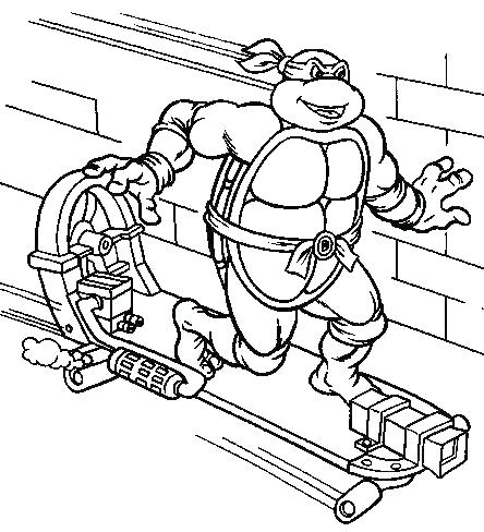 444x488 Tmnt Coloring Book Coloring Book Teenage Mutant Ninja Turtles