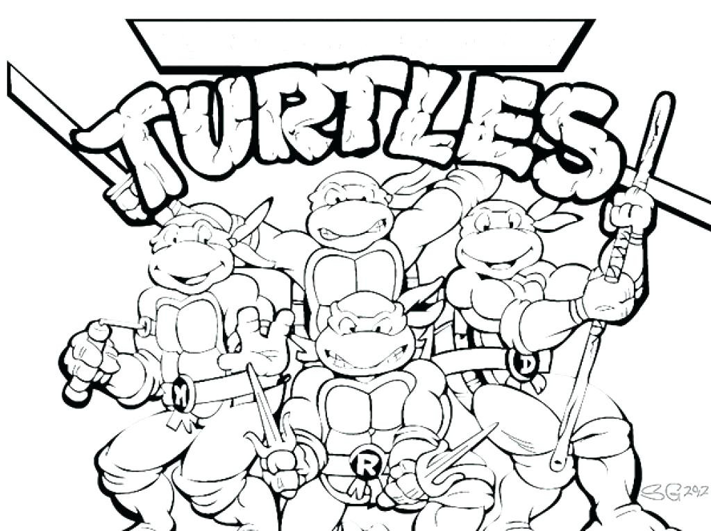 1024x766 Tmnt Printable Coloring Pages Best Of Teenage Mutant Ninja Turtles