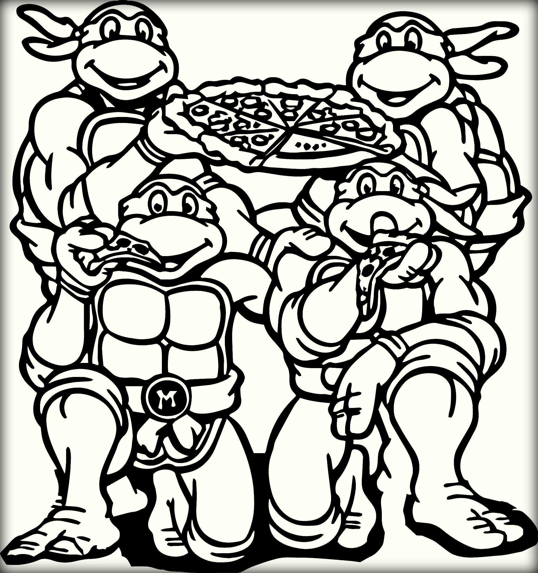 Tmnt Raphael Coloring Pages