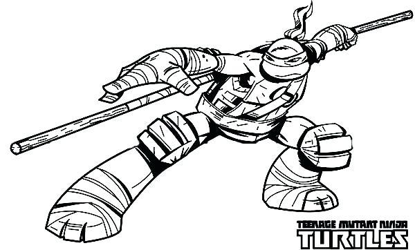 600x362 Ninja Turtles Raphael Coloring Pages Ninja Turtles Coloring Pages