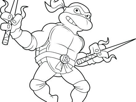 440x330 Tmnt Raphael Coloring Pages Ninja Turtles Coloring Page Ninja