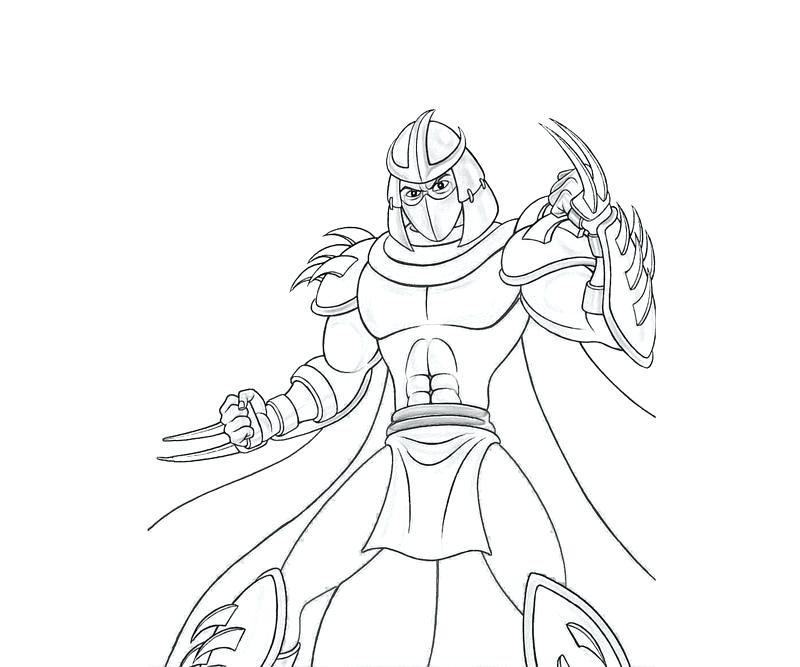800x667 Tmnt Raphael Coloring Pages Shredder Coloring Pages All Ninja