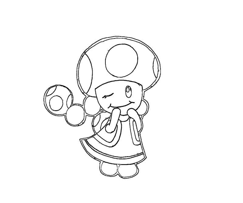 The Best Free Toadette Coloring Page Images Download From 27 Free