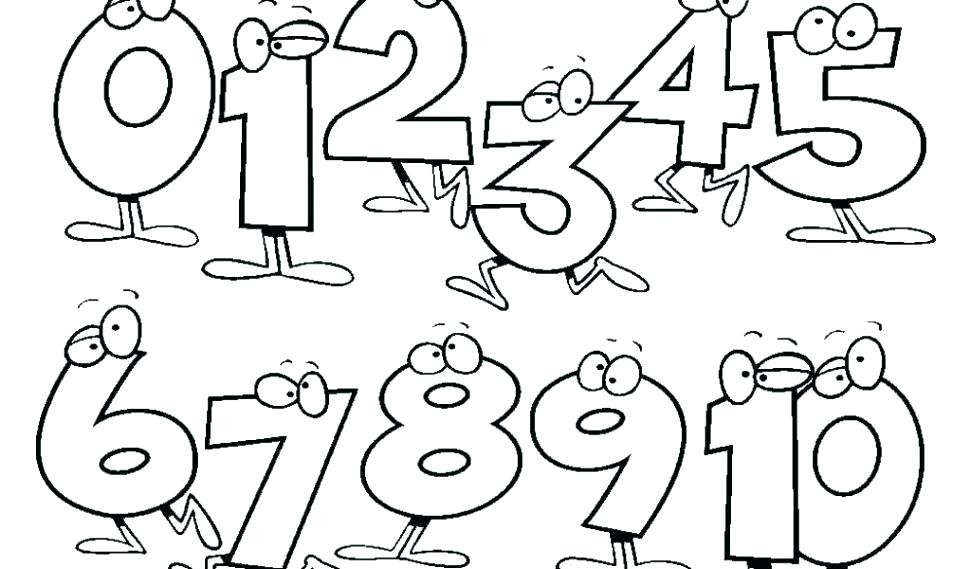 971x569 Number Coloring Pages Coloring Pages