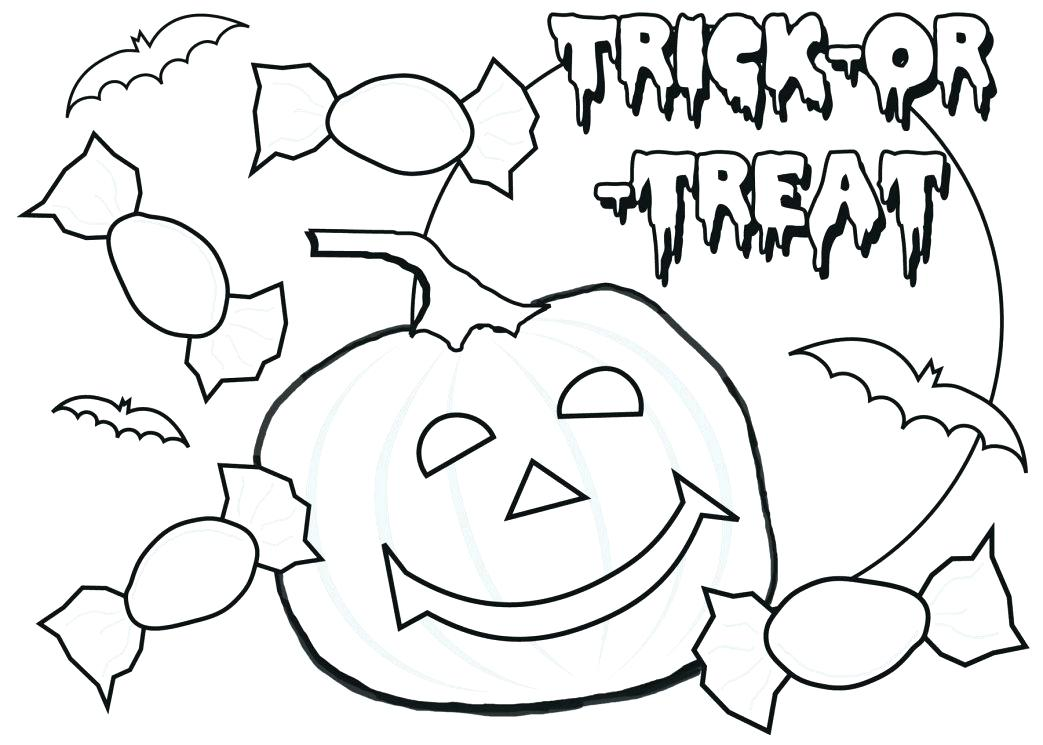 1043x745 Halloween Coloring Pages For Toddlers Large Size Of Coloring Pages
