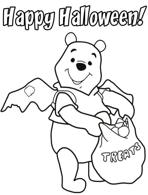 580x765 Toddler Halloween Coloring Pages Printable