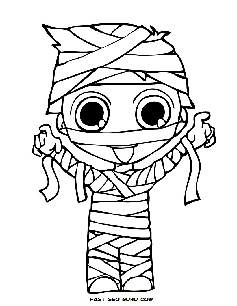 820x1060 Cute Halloween Coloring Pages Trend For Toddlers