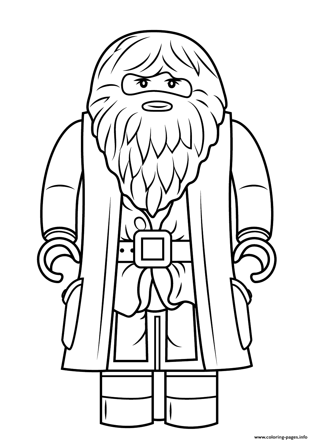 1060x1500 Harry Potter Coloring Pages To Print