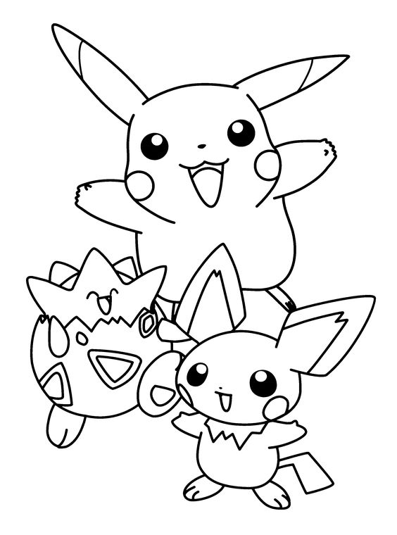 564x760 Pikachu Hatch Free Coloring Page Kids, Pokemon Coloring Pages