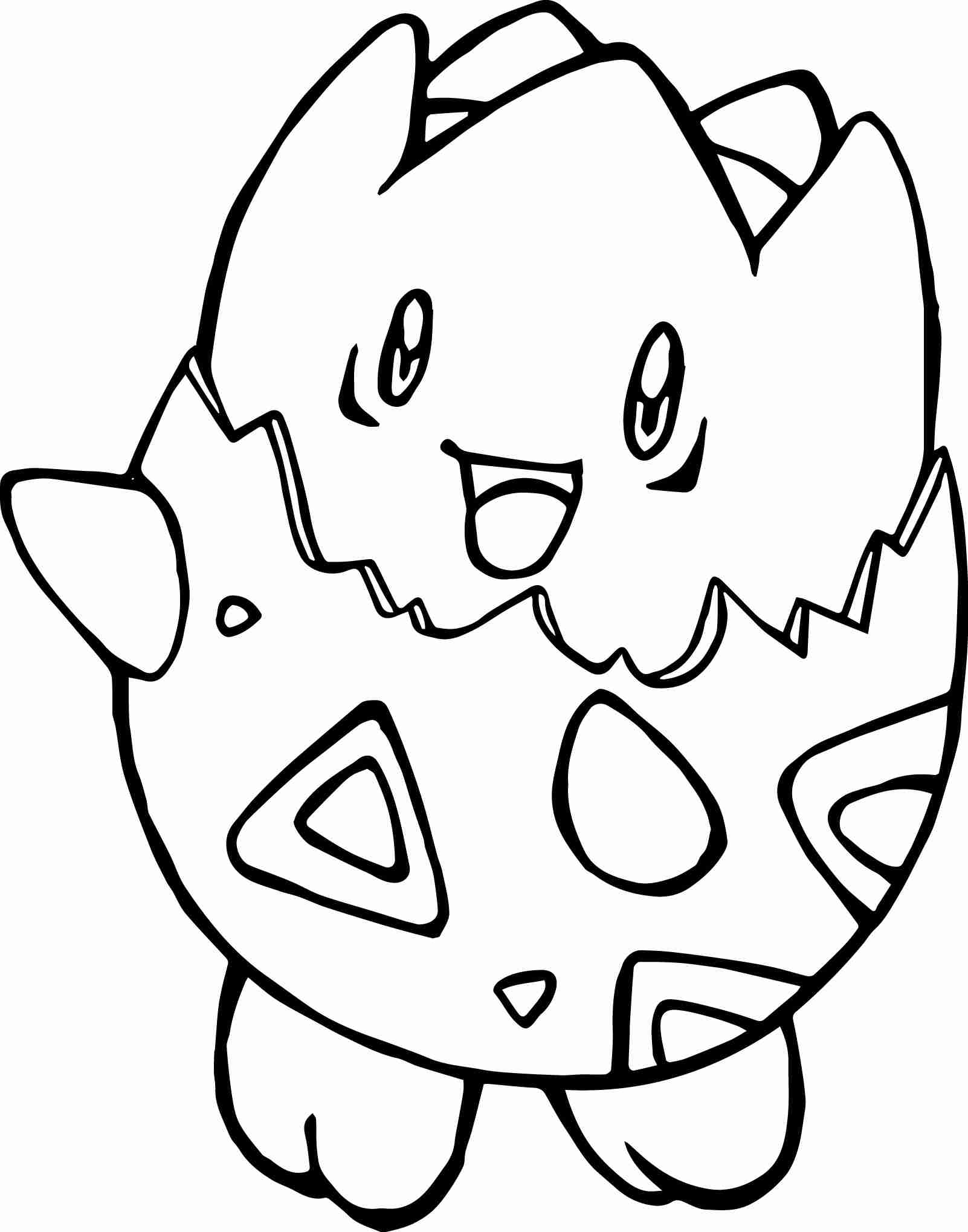 1602x2038 Togepi Coloring Page Throughout Pages Creativemov And Pokemon