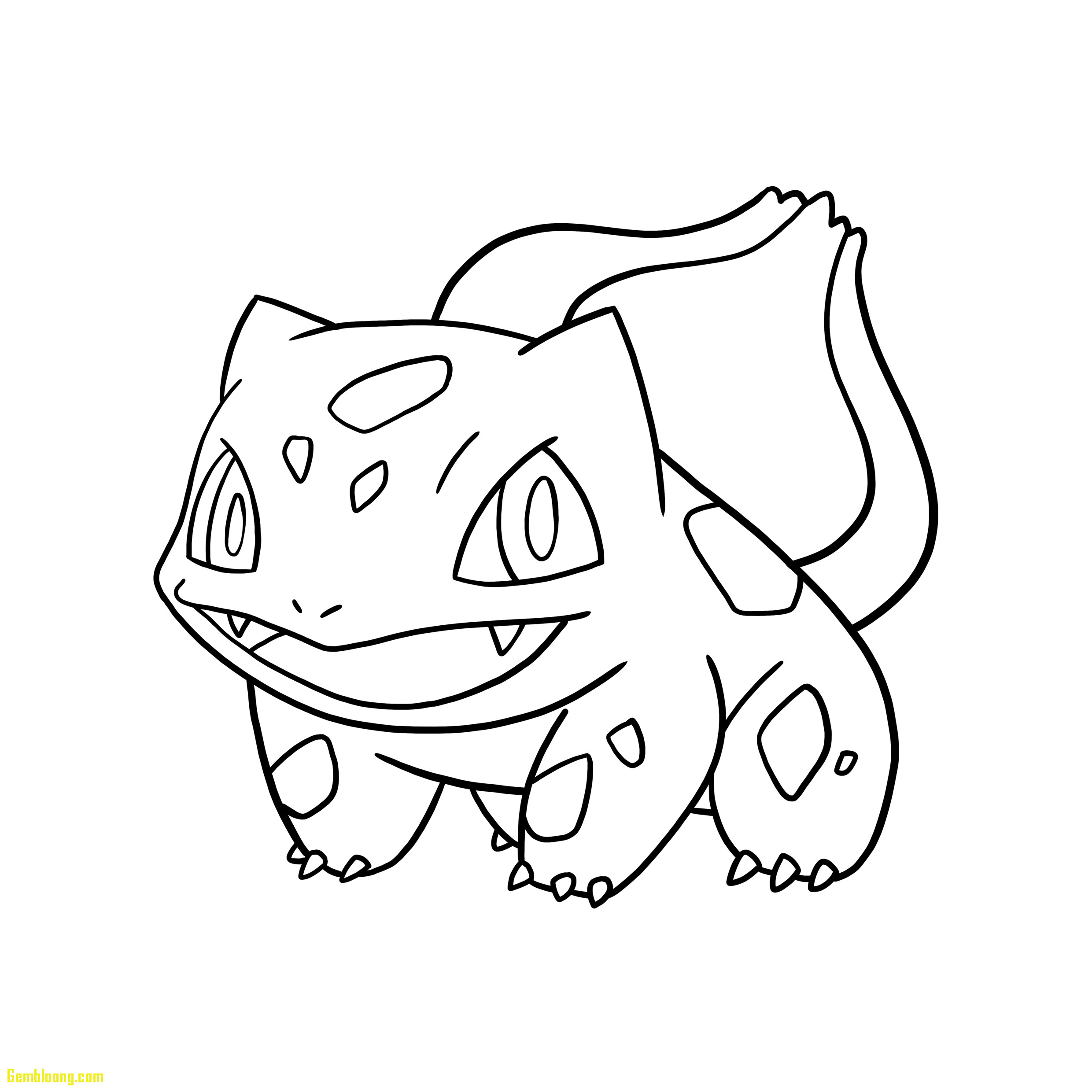 2480x2480 Togepi Coloring Pages