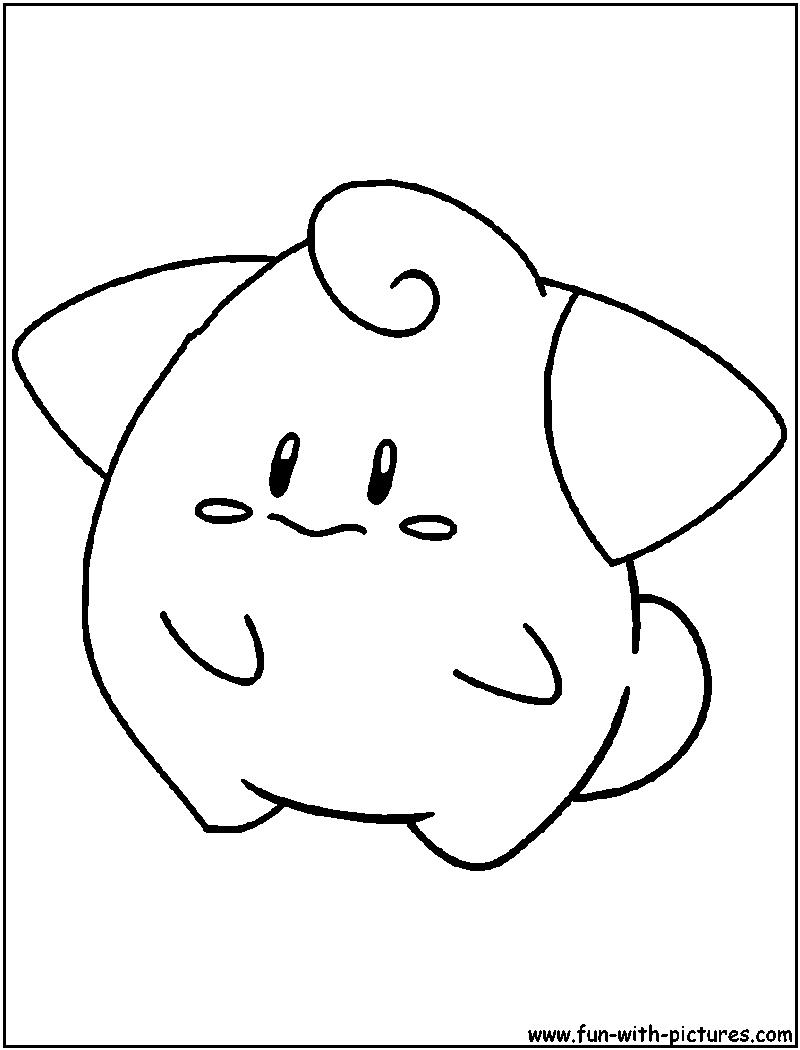 800x1050 Cleffa Coloring Page Pokemon Pokemon Coloring