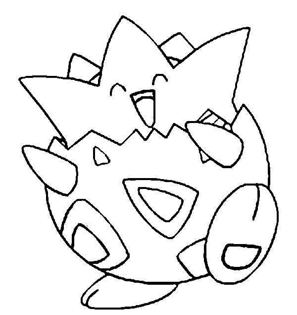 600x635 Coloring Pages Pokemon