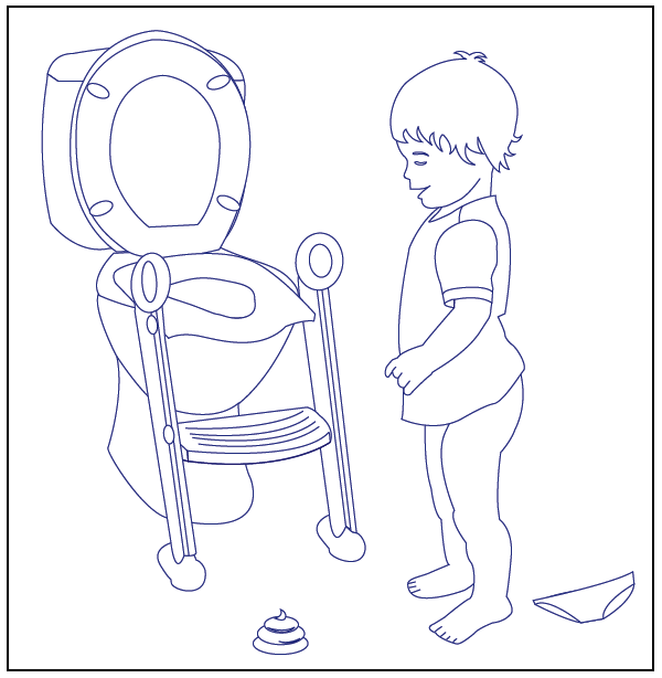 600x614 Free Potty Training Coloring Pages For Download