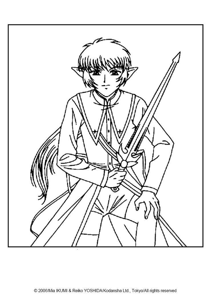 750x1060 Fighting Alien Coloring Page From Tokyo Mew Mew Manga More Manga