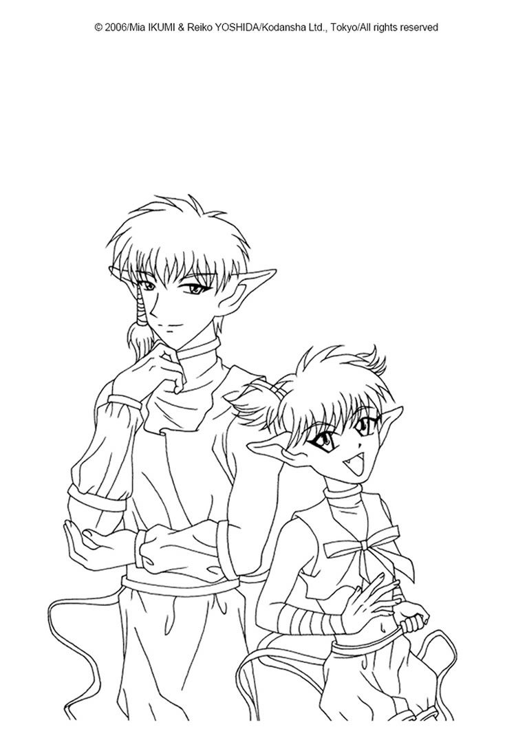 750x1060 Tokyo Mew Mew Aliens Coloring Pages