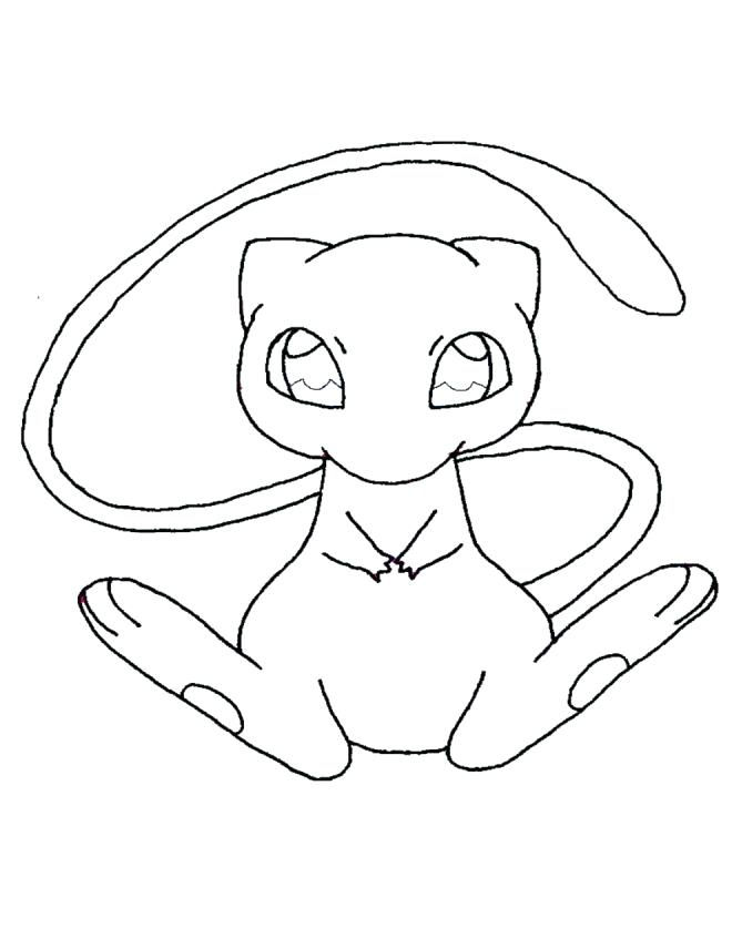 660x847 Coloring Pages Tokyo Mew
