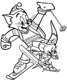236x280 Tom And Jerry Coloring Picture Landon Benjamin