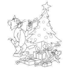 230x230 Top Free Printable Tom And Jerry Coloring Pages Online