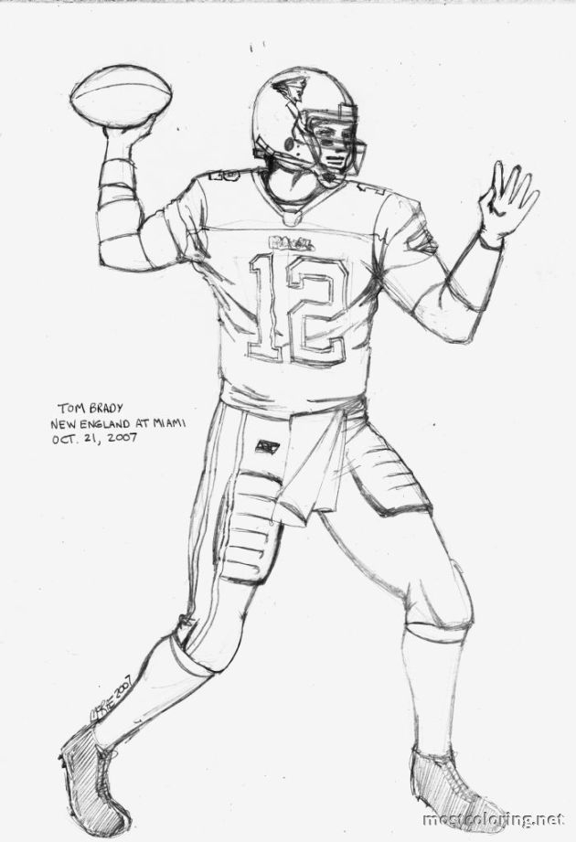 630x921 Tom Brady Coloring Pages Selection Free Coloring Pages