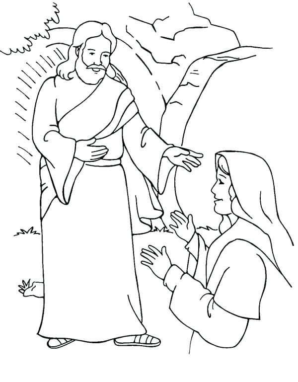 600x769 Jesus Resurrection Coloring Pages Resurrection Coloring Pages