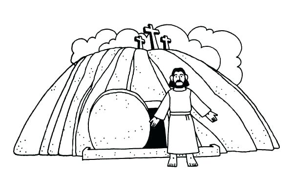 600x400 Resurrection Coloring Pages Color Pages Resurrection Of Coloring