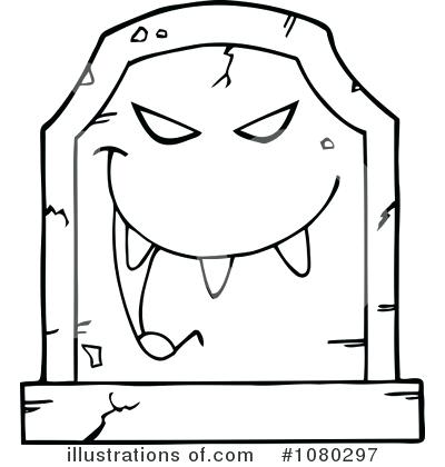 400x420 Tombstone Coloring Page Royalty Free Tombstone Illustration