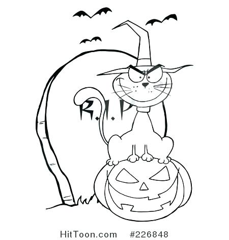 450x470 Tombstone Coloring Page Tombstone Coloring Page Coloring Page