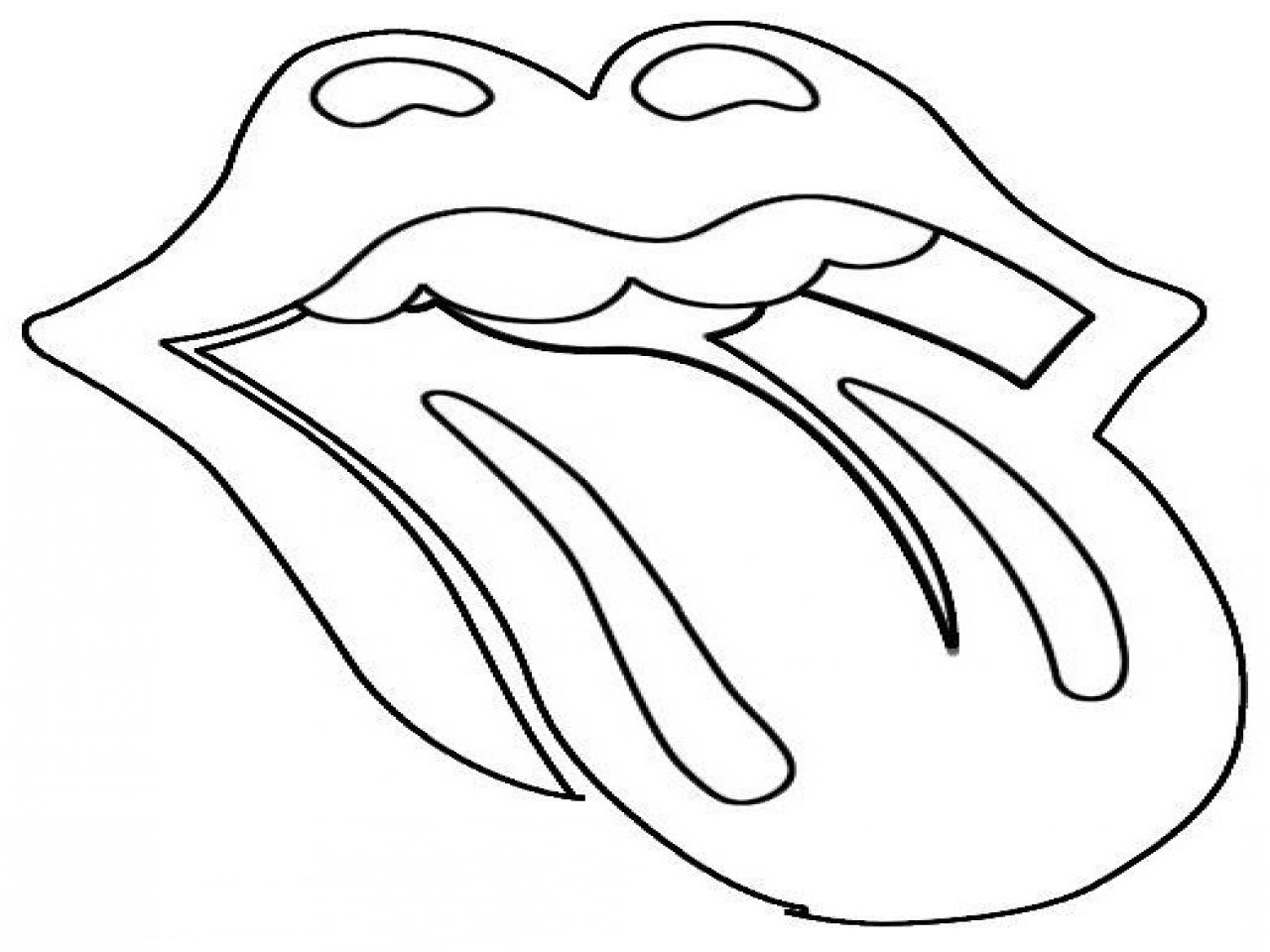1280x960 Appealing Tattle Tongue Coloring Page Printable Pics For Trend