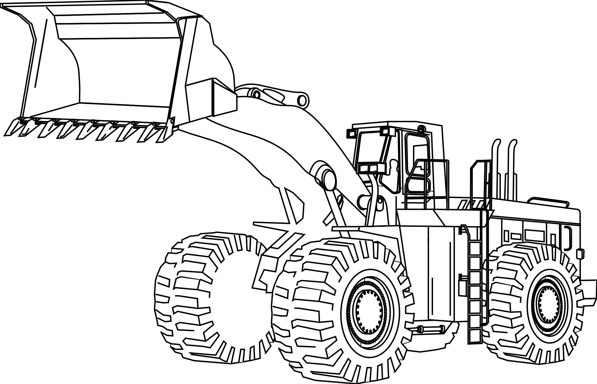 1969x1266 Learn Colors With Construction Truck Coloring Pages Vehicle