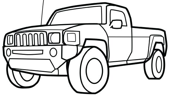 580x326 Truck Coloring Pages Free Pickup Truck Coloring Page Free Pickup
