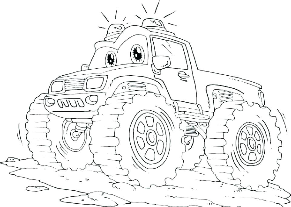 960x684 Truck Coloring Pages Semi Truck Coloring Page Truck Coloring Truck