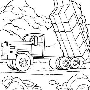 300x300 Adult Tonka Truck Coloring Pages Tonka Truck Coloring Sheets