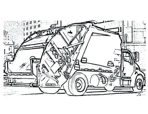600x464 Dump Truck Coloring Page Dump Truck Coloring Dumping Dirt Dump K