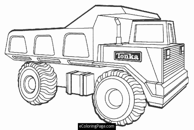 665x446 Tonka Truck Coloring Pages Aa Coloring Pages Garbage