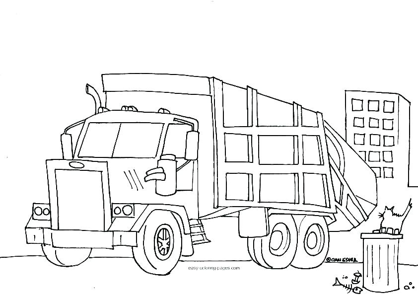 842x598 Dump Truck Coloring Page Chuck The Dump Truck Coloring Pages Tonka