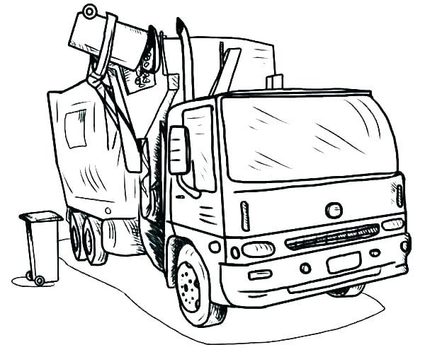 600x498 Dump Truck Coloring Page Dump Truck Coloring Book Pages Dump Truck