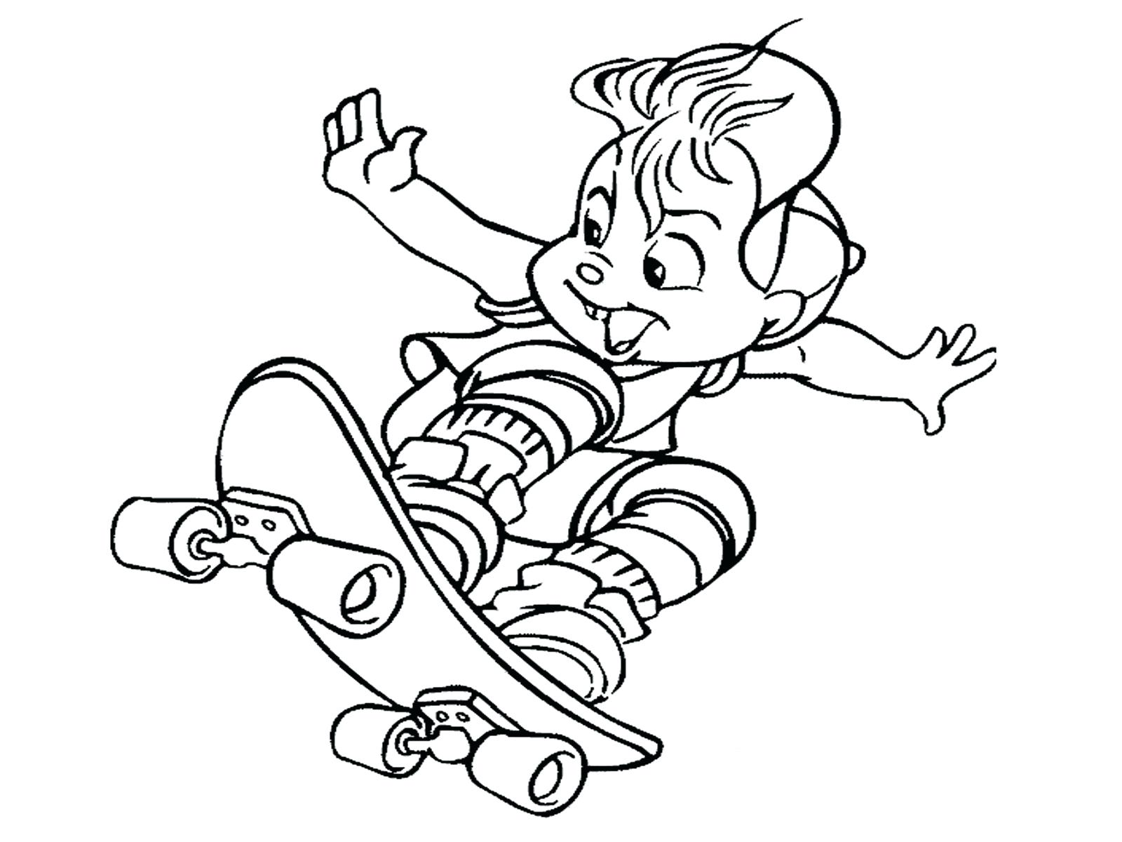 1600x1200 Coloring Page Skateboard Coloring Pages Skateboard Ramp Coloring