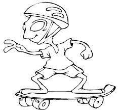 233x216 Tony Hawk Skateboarding Coloring Pages Happy Go Skateboarding
