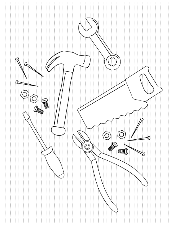612x792 Father's Day Coloring Pages Make And Takes