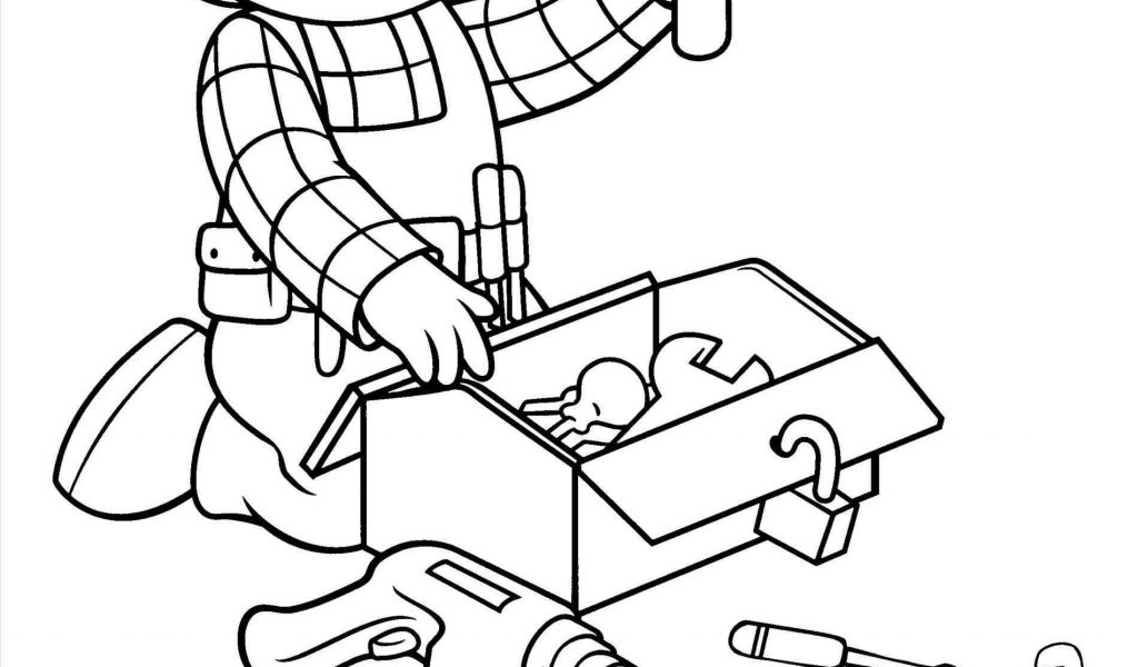 The best free Handyman coloring page images  Download from