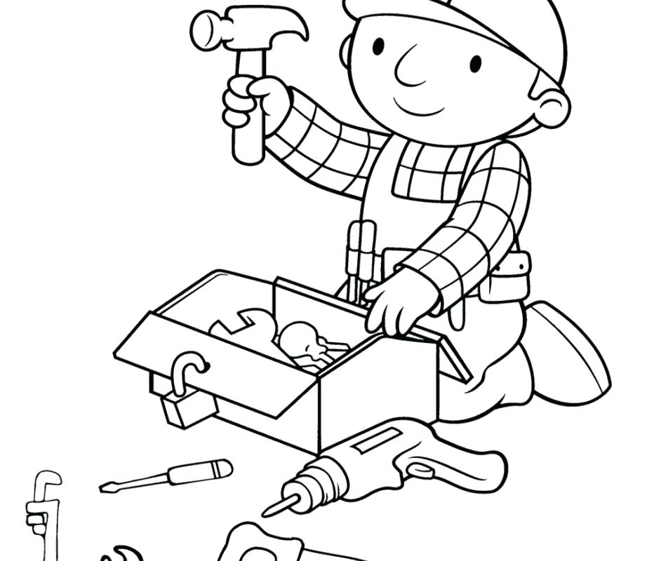 922x800 Tool Coloring Pages Amazing Construction Tools Coloring Pages New